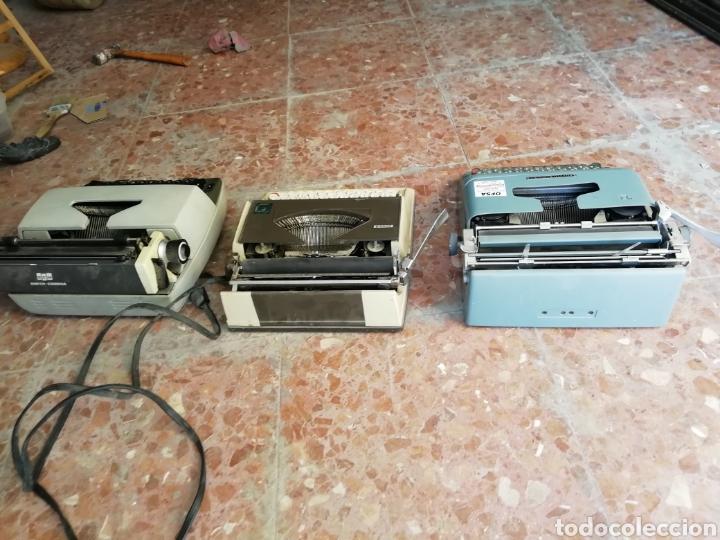 Antigüedades: Lote de 3 máquinas de escribir - Foto 9 - 177576514