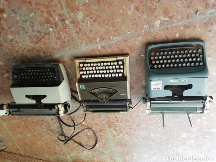 Antigüedades: Lote de 3 máquinas de escribir - Foto 11 - 177576514