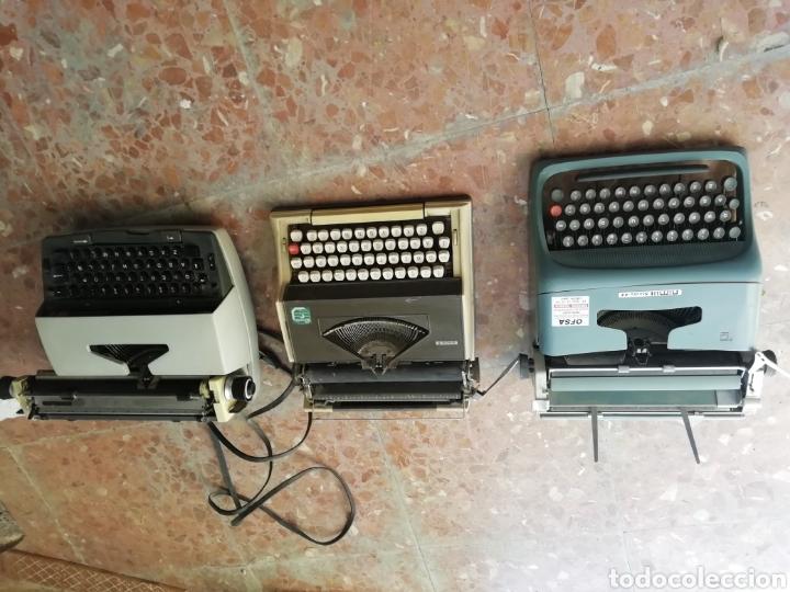 Antigüedades: Lote de 3 máquinas de escribir - Foto 12 - 177576514