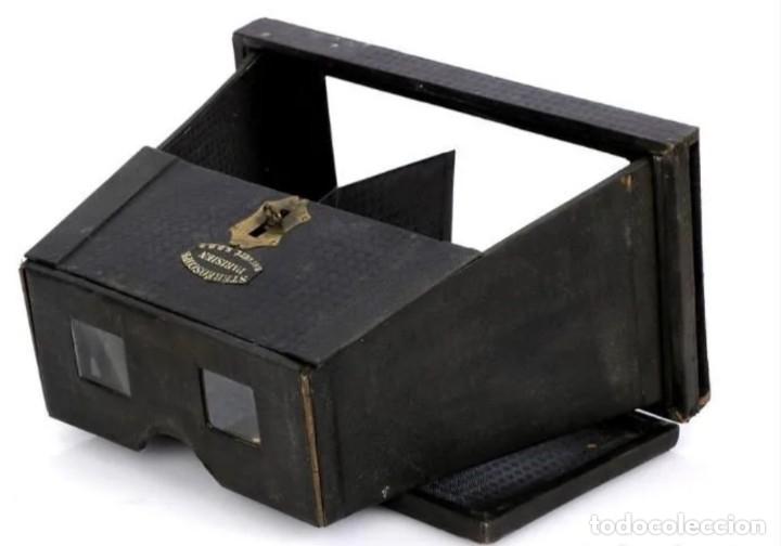 Antigüedades: Estereoscópio Parisien - Foto 9 - 177583252