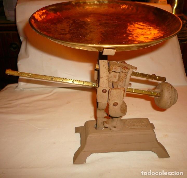 BASCULA FAMI. PATENT. (Antigüedades - Técnicas - Medidas de Peso - Básculas Antiguas)