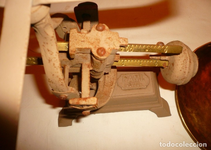 Antigüedades: BASCULA FAMI. Patent. - Foto 5 - 177616153