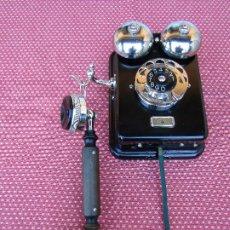 Teléfonos: ANTIGUO TELEFONO DE PARED DE LA MARCA TELEFONAKTIEBOLAGET, L. M. ERICSSON, AÑO: 1932. Lote 177628604