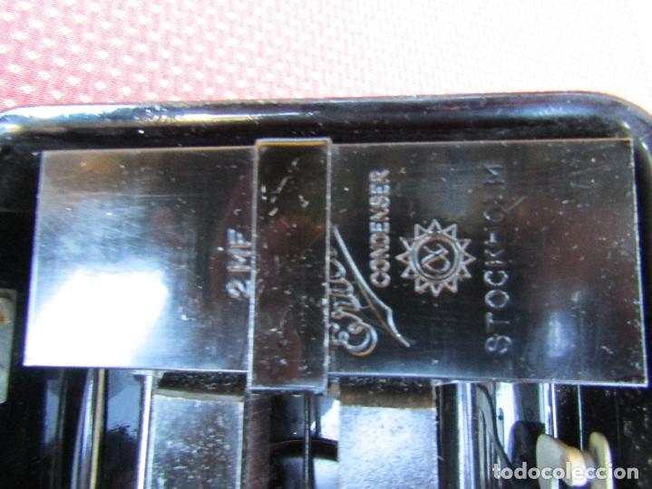 Teléfonos: ANTIGUO TELEFONO DE PARED DE LA MARCA TELEFONAKTIEBOLAGET, L. M. ERICSSON, AÑO: 1932 - Foto 9 - 177628604