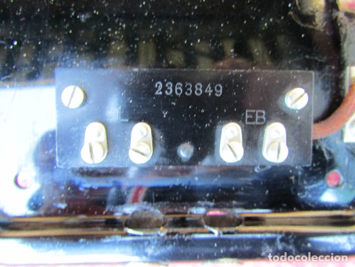 Teléfonos: ANTIGUO TELEFONO DE PARED DE LA MARCA TELEFONAKTIEBOLAGET, L. M. ERICSSON, AÑO: 1932 - Foto 10 - 177628604