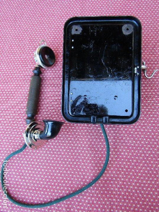 Teléfonos: ANTIGUO TELEFONO DE PARED DE LA MARCA TELEFONAKTIEBOLAGET, L. M. ERICSSON, AÑO: 1932 - Foto 11 - 177628604