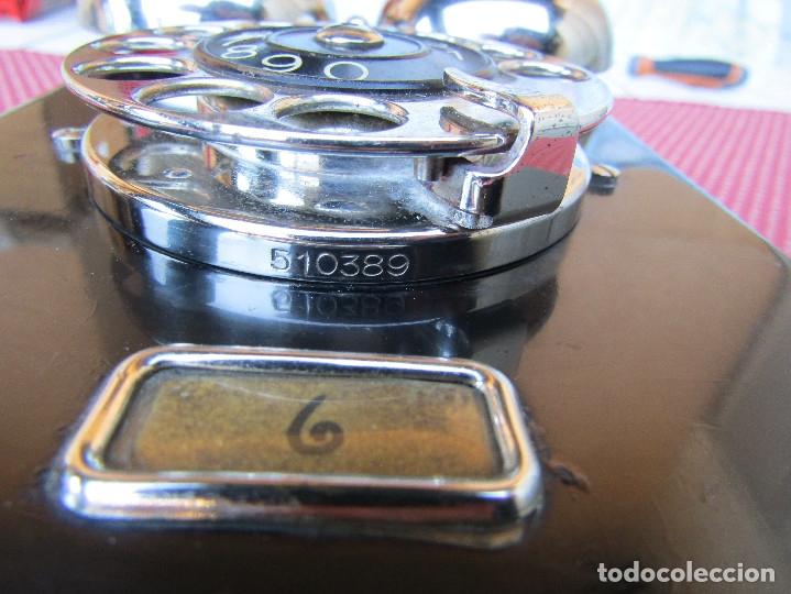 Teléfonos: ANTIGUO TELEFONO DE PARED DE LA MARCA TELEFONAKTIEBOLAGET, L. M. ERICSSON, AÑO: 1932 - Foto 12 - 177628604