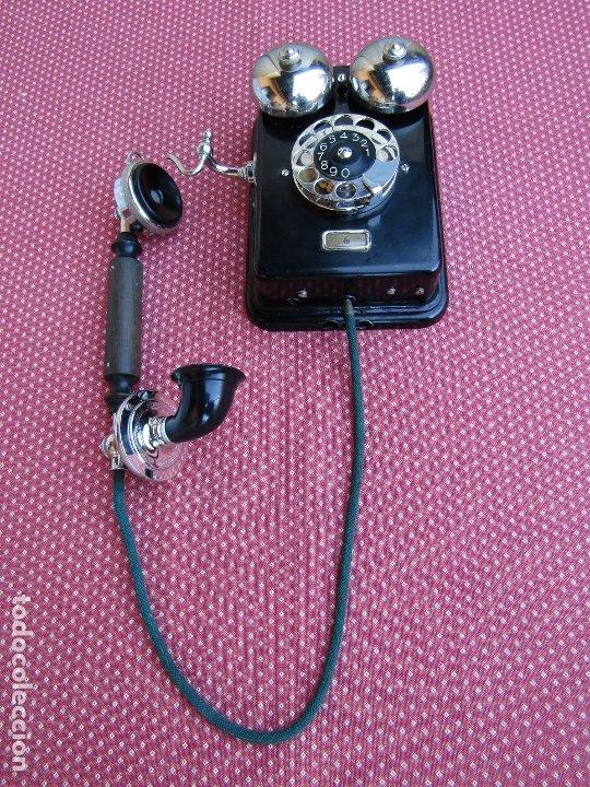 Teléfonos: ANTIGUO TELEFONO DE PARED DE LA MARCA TELEFONAKTIEBOLAGET, L. M. ERICSSON, AÑO: 1932 - Foto 17 - 177628604