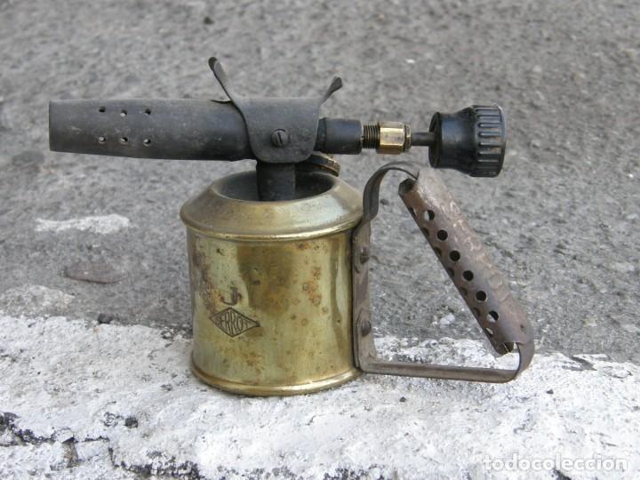LAMPARILLA DE FONTANERO (Antigüedades - Técnicas - Herramientas Antiguas - Otras profesiones)