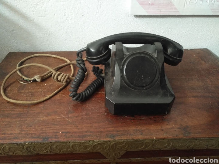 TELEFONO MARCA VOROSHILOV INTERCOMUNICADOR URSS , TELEFONO INTERNO BAQUELITA. (Antigüedades - Técnicas - Teléfonos Antiguos)