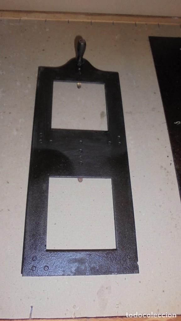 Antigüedades: (M) ANTIGUO APARATO OPTICO MARCA GAUMONT PRINCIPIO S. XX DE METAL , HIERRO 2 LUPAS ABIERTO 80 CM. DE - Foto 11 - 177823838