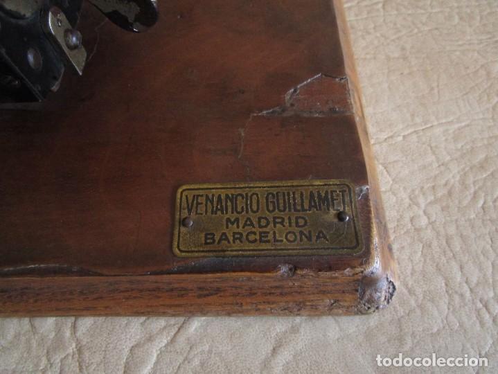 Antigüedades: antigua maquina de calcular calculadora venancio guillamet trinks brunsviga - Foto 8 - 91572195