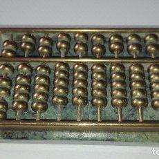 Antigüedades: ABACO EN METAL Y MARMOL. Lote 177941530