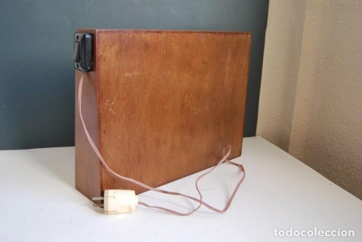 Antigüedades: LÁMPARA - PANTALLA PARA RAYOS X - VISOR DE RADIOGRAFÍAS - AÑOS 60 - Foto 9 - 178023833