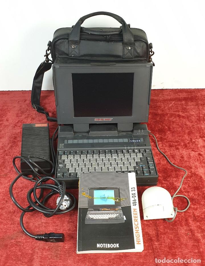 ORDENADOR PERSONAL HIGHSCREEN. 486-DX 33. DOS. 40MB HDD. RAM 40 MB. ALEMANIA. (Antigüedades - Técnicas - Ordenadores hasta 16 bits (anteriores a 1982))