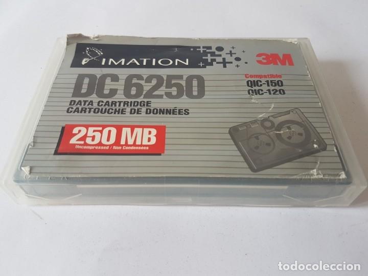 DATA CARTRIDGE TAPE 3M DC600A 60MB (Antigüedades - Técnicas - Ordenadores hasta 16 bits (anteriores a 1982))