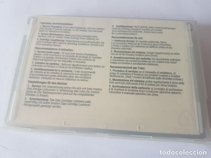 Antigüedades: DATA CARTRIDGE TAPE 3M DC600A 60MB - Foto 2 - 178235382