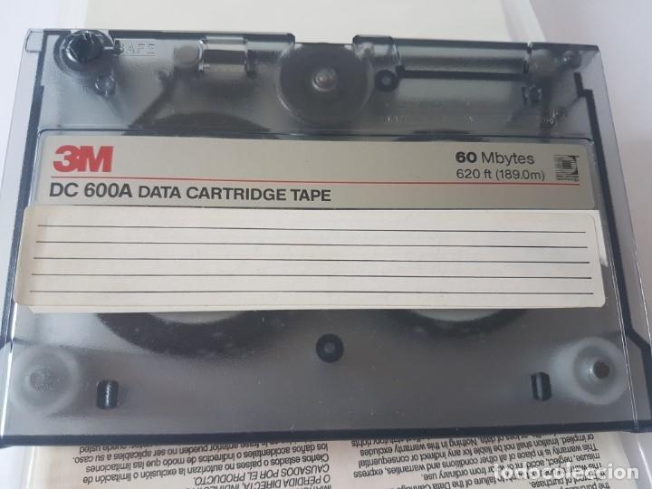 Antigüedades: DATA CARTRIDGE TAPE 3M DC600A 60MB - Foto 3 - 178235382