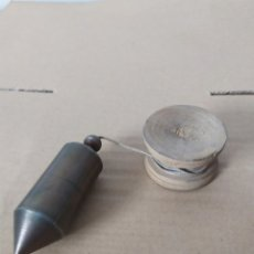 Antigüedades: NIVEL PLOMADA. Lote 178255493