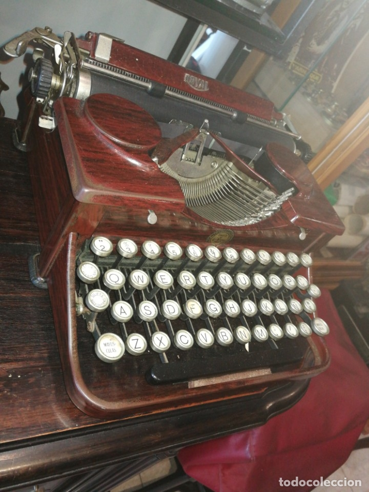 Antigüedades: Máquina escribir antigua - Foto 5 - 178258372