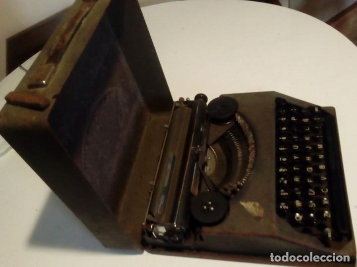 ANTIGUA MAQUINA DE ESCRIBIR PORTATIL E. PAILLARD YVERDON - AÑOS 30 (Antigüedades - Técnicas - Máquinas de Escribir Antiguas - Hermes)