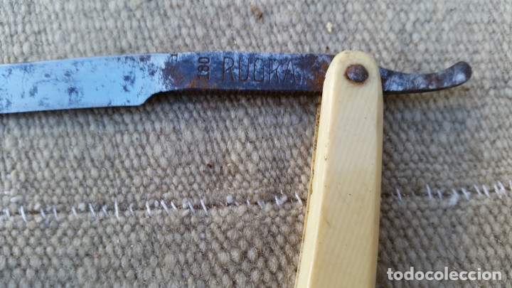 Antigüedades: navaja de afeitar antigua - Foto 2 - 178267862
