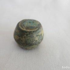 Antigüedades: PONDERAL FORMA DE BARRIL 59,6 GR. Lote 178269695