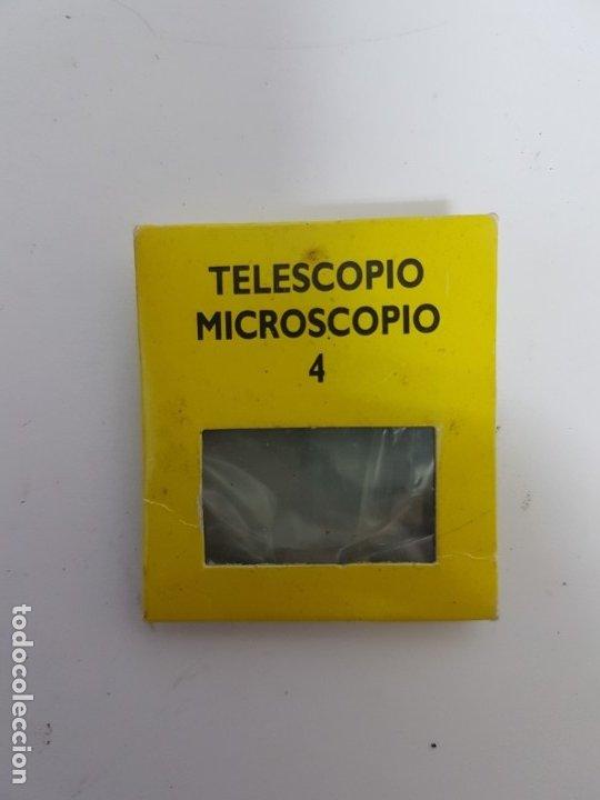 LENTE TELESCOPIO / MICROSCOPIO NUMERO 4 (Antigüedades - Técnicas - Instrumentos Ópticos - Microscopios Antiguos)