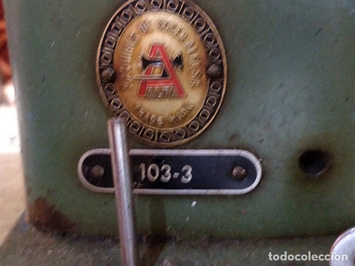 Antigüedades: Máquina de coser ALFA - Alfamatic 103-3- sin motor - Foto 7 - 178441167