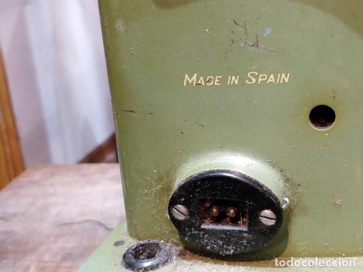 Antigüedades: Máquina de coser ALFA - Alfamatic 103-3- sin motor - Foto 10 - 178441167