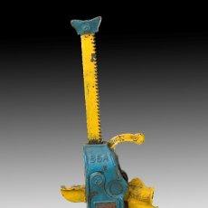 Antigüedades: GATO ELEVADOR, 5 TN. SIMPLEX. HIERRO. USA TEMPLETON, KENLY & COMPANY, CHICAGO, SIGLO XX. . Lote 178569907
