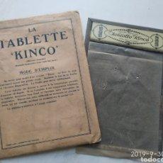Antigüedades: TABLETTE KINCO. Lote 178601478