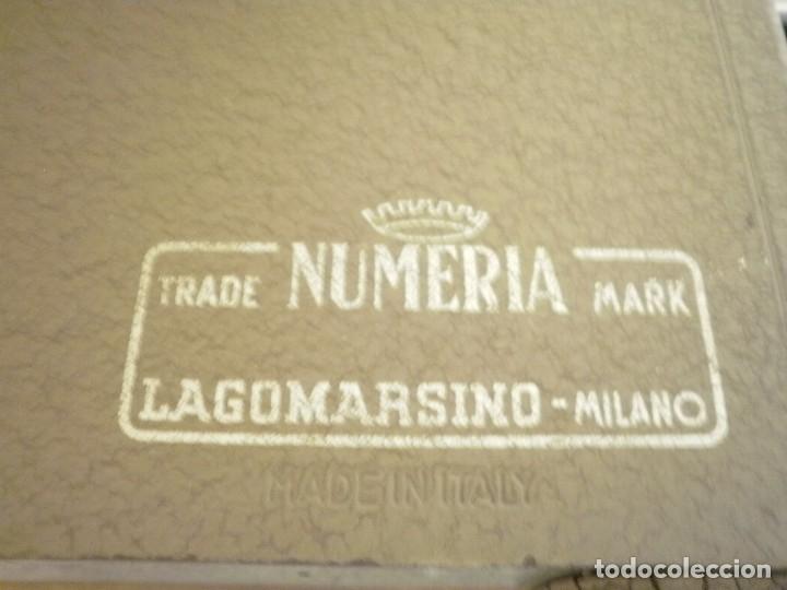 Antigüedades: ANTIGUA CALCULADORA ITALINA -NUMERIA- - Foto 3 - 178605737