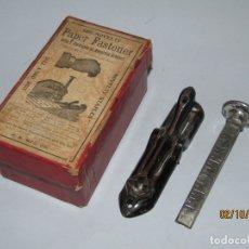 Antigüedades: ANTIGUA GRAPADORA DE HIERRO FABRICADA EN GRAN BRETAÑA - AÑO 1900S.. Lote 178660670