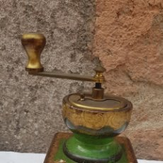 Antigüedades: MONILILLO CAFE POLCROMADO. Lote 178723957