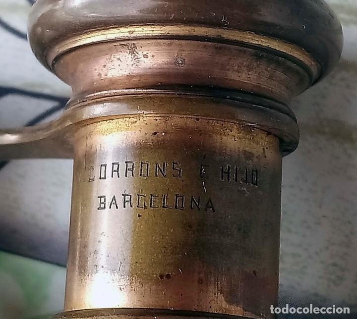 Antigüedades: Antiguos Binoculares de ópera Corrons e Hijo Barcelona - Foto 3 - 178736407
