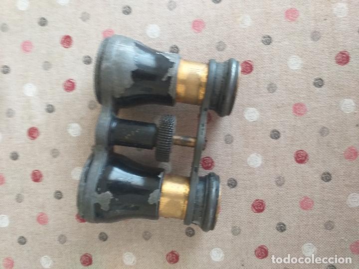 BINOCULARES MUY ANTIGUOS PROBABLEMENTE SIGLO XIX (Antigüedades - Técnicas - Instrumentos Ópticos - Binoculares Antiguos)