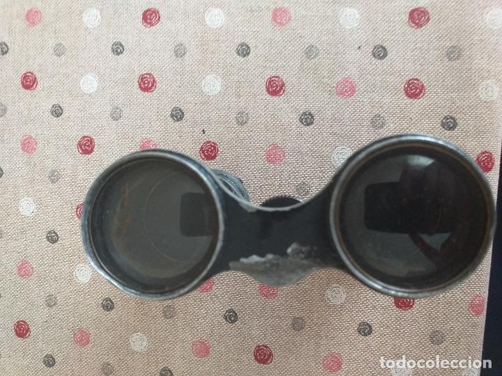 Antigüedades: binoculares muy antiguos probablemente siglo XIX - Foto 5 - 178780212