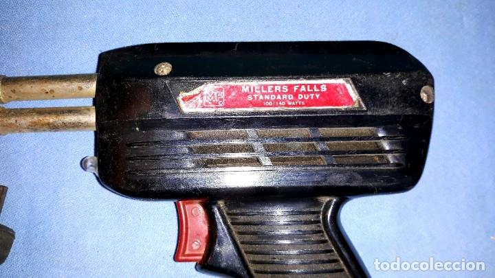 Antigüedades: ANTIGUO SOLDADOR ELECTRICO MILLERS FALLS MADE IN USA EN BUEN ESTADO - Foto 3 - 178792157