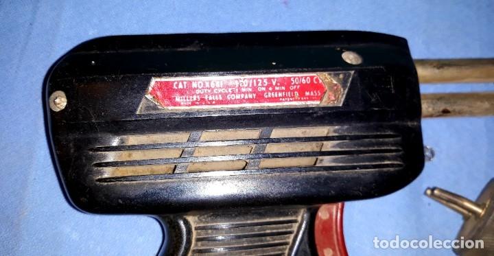 Antigüedades: ANTIGUO SOLDADOR ELECTRICO MILLERS FALLS MADE IN USA EN BUEN ESTADO - Foto 4 - 178792157