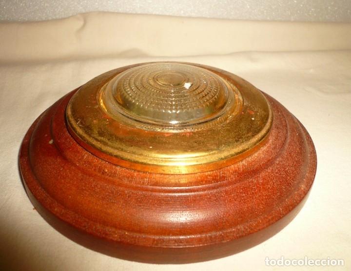 Antigüedades: APLIQUE REDONDO DE CAMAROTE - Foto 2 - 178815753