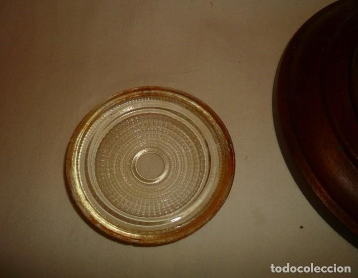 Antigüedades: APLIQUE REDONDO DE CAMAROTE - Foto 3 - 178815753
