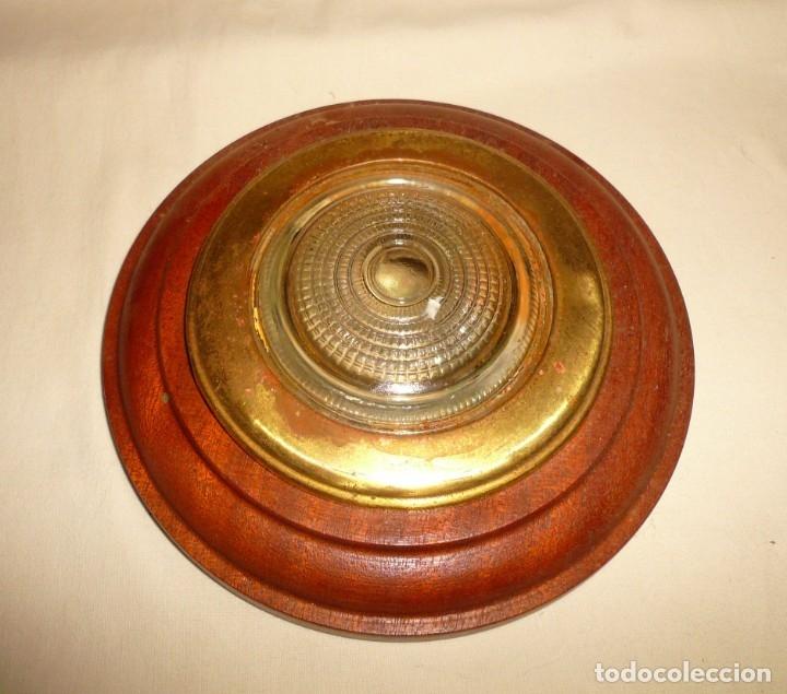 Antigüedades: APLIQUE REDONDO DE CAMAROTE - Foto 6 - 178815753