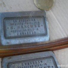 Antigüedades: ¡¡MOLDE ,DE IMPRENTA¡AÑOS,30,40¡UNICO,EN TC¡¡'LA ARGENTINA,IMPRENTA PAPELERIA¡S.SANCHEZ¡¡ZARAGOZA¡. Lote 178817872