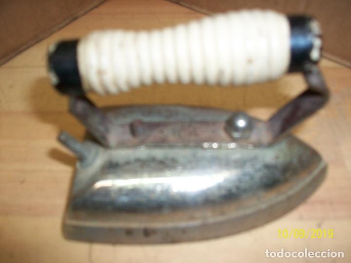 Antigüedades: ANTIGUA PLANCHA EDERMANN - Foto 2 - 178823840