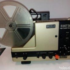 Antigüedades: PROYECTOR DE CINE SONORO SUPER 8 EUMIG S-907 GL. Lote 178836757