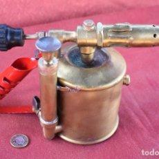 Antigüedades: LAMPARA DE FONTANERO. Lote 178844290