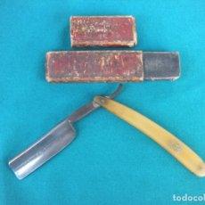 Antigüedades: NAVAJA DE AFEITAR PALMERA ESPECIAL. Lote 178917641