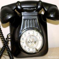 Teléfonos: ESTUPENDO Y ANTIGUO TELEFONO DE PARED DE BAQUELITA FUNCIONANDO--ENVIO GRATIS A PENINSULA. Lote 178955736