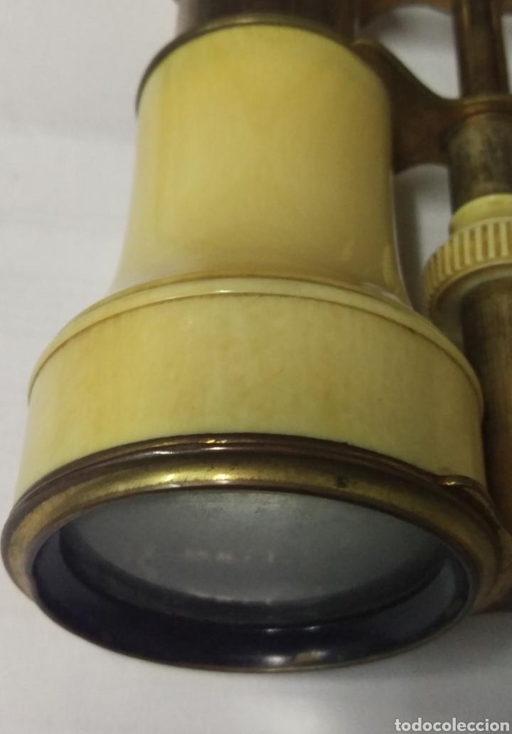 Antigüedades: Antiguos prismáticos de marfil - Foto 2 - 178973445